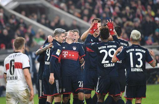 VfB Stuttgart unterliegt Bayern knapp