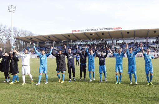 Gegen Duisburg kommen 2015 im März 8650 Fans  Foto:  Baumann