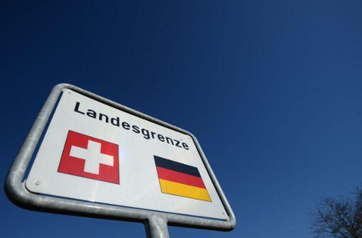 Weniger illegale Einreisen über Schweizer Grenze