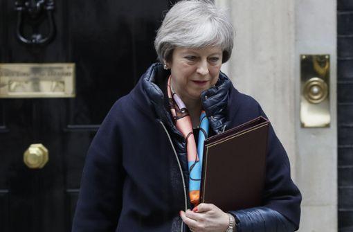 Theresa May steuert auf Sanktionen gegen Russland zu