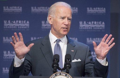 Schüsse vor Privathaus von Joe Biden