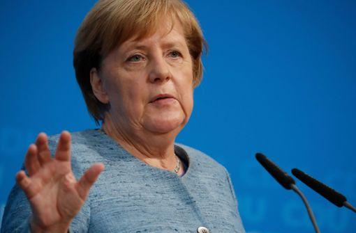 Merkel will Fahrverbote gesetzlich erschweren