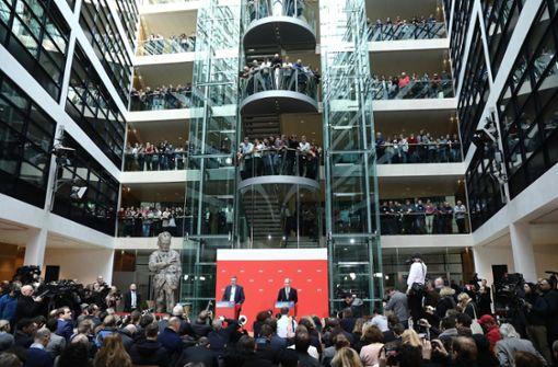 Die SPD hat sich für eine Neuauflage der GroKo entschieden. Foto: dpa