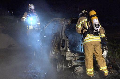 Die Feuerwehr musste anrücken,...   Foto: 7aktuell.de/Alexander Hald
