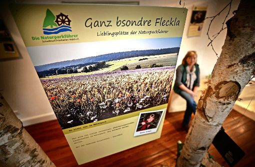 """Naturparkführer zeigen """"Ganz bsondere Flecka"""""""