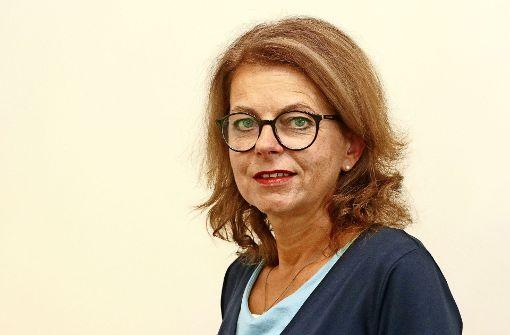 Viola Noack ist die Vorsitzende des Korntaler Gewerbe- und Handelsvereins und organisiert das Korntaler Straßenfest mit. Foto: factum/Granville