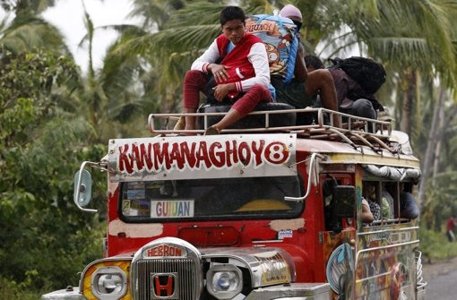 Hagupit verschont Manila