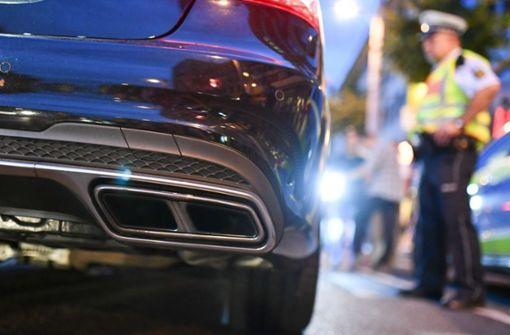 Polizei geht erneut gegen Autoposer vor
