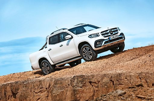 Mercedes startet in die Pick-up-Klasse