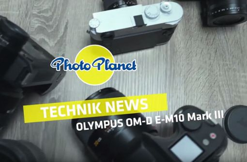 Technik News: Olympus OM-D E-M10 Mark III