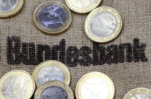 Deutlich weniger Überschuss bei der Bundesbank