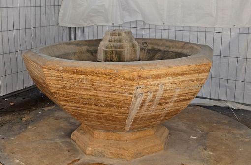 Marode Wasserleitung wird erneuert
