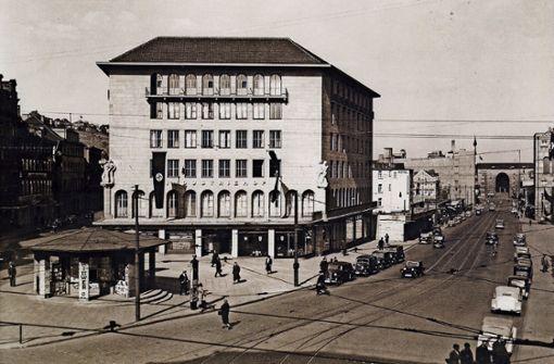1938 war der heutige Palast der Republik Klohäuschen und Wittwer-Kiosk.  Foto: Landesmedienzentrum