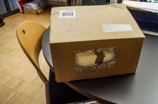 Verdächtiges Paket im Bürgeramt entdeckt