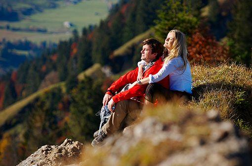 Goldener Herbst in Oberstaufen. Foto: Oberstaufen Tourismus