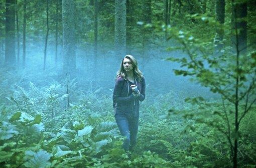 Natalie Dormer als Sara Price in einer Szene aus The Forest Foto: Splendid Film