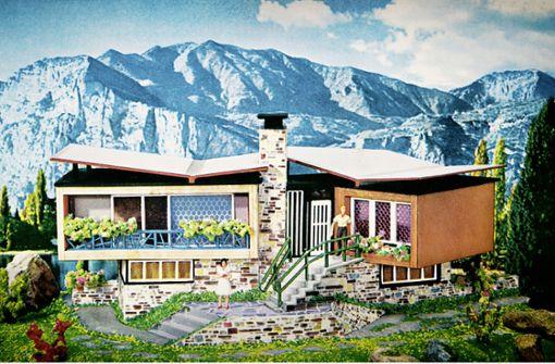 """Der Kult-Bausatz des Wirtschaftswunders """"Villa im Tessin"""" Foto: Gebr. Faller GmbH 1961"""