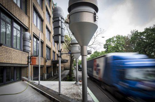 Wieder mehr Schadstoffe am Neckartor