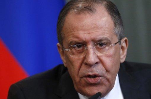 Russland will nicht der Totengräber sein