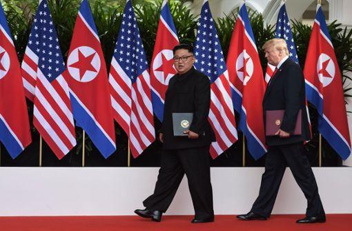 Trump und Kim einigen sich – erste Schritte zur atomaren Abrüstung