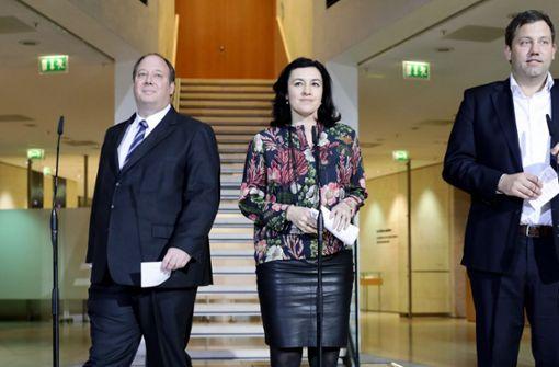 Union und SPD setzen Koalitionsgespräche am Montag fort