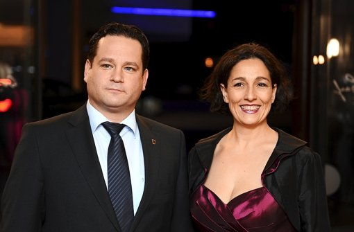 Conny Mayer-Bonde und ihr Mann Alexander Bonde (Grüne), der Landesminister für Ländlichen Raum, Naturschutz und Tourismus. Foto: dpa