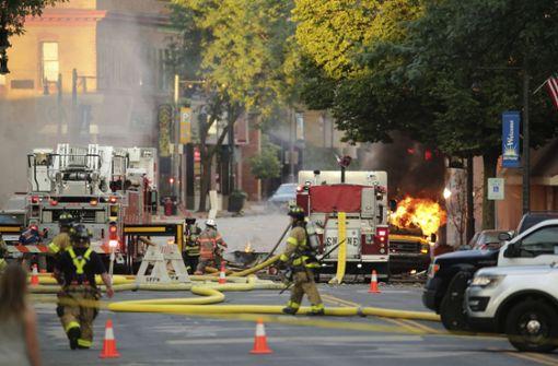 Mehrere Verletzte nach Explosion in Vorort