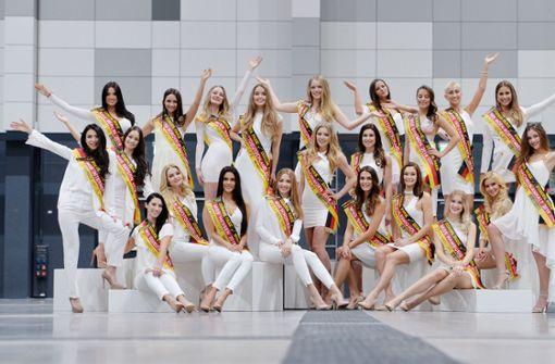 Diese 22 Kandidatinnen wollen ein Krönchen