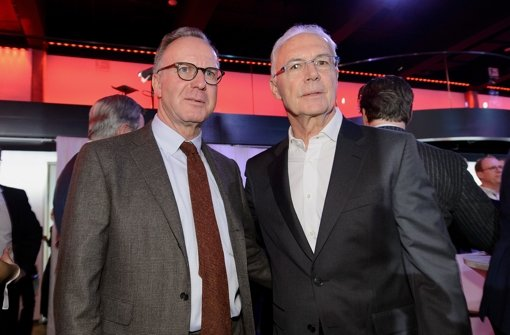 Stelldichein von Beckenbauer und Co.