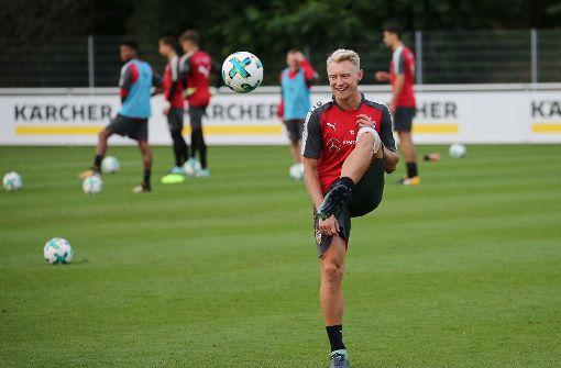 Hofft auf einen Einsatz gegen Schalke: Andreas Beck. Foto: Pressefoto Baumann
