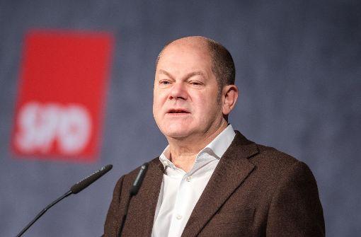 Scholz will Zwölf-Euro-Mindestlohn
