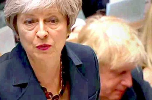 Brexit-Verfechter vor dem Klippensturz