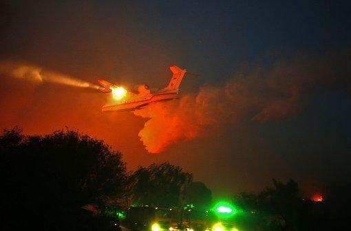Seit Tagen wüten in Teilen Israels heftige Feuer. Foto: AFP