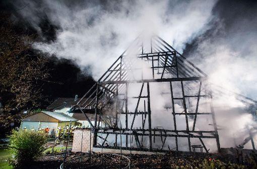 Hoher Schaden nach Scheunenbrand