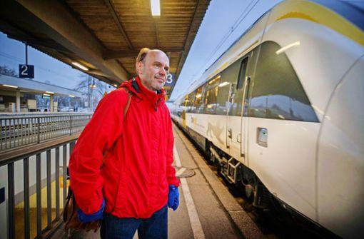 Kein guter Zug der Bahn – sagen Pendler