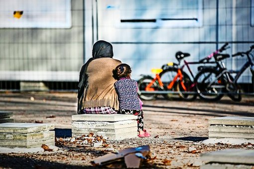 Das Containerdorf neben dem berufsschulzentrum ist eine von sechs Geislinger Gemeinschaftsunterkünften für geflüchtete Menschen. Foto: Horst Rudel