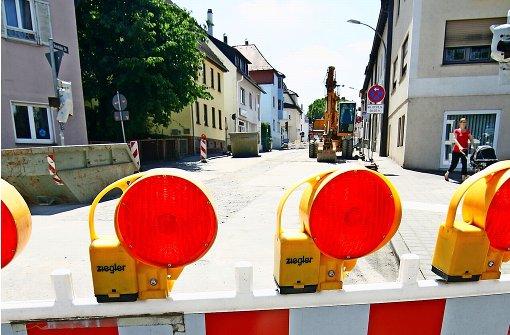 Kanalbauarbeiten dauern bis September