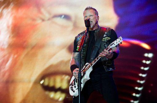 Die US-Rocker Metallica um Sänger James Hetfield kommen nach Stuttgart – und schon am Tag der Ankündigung geht es auf dem Ticketmarkt hoch her Foto: dpa