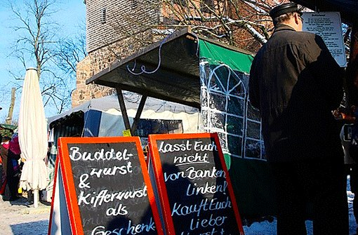 Advent in Zarrentin. Foto: Lerchenmüller