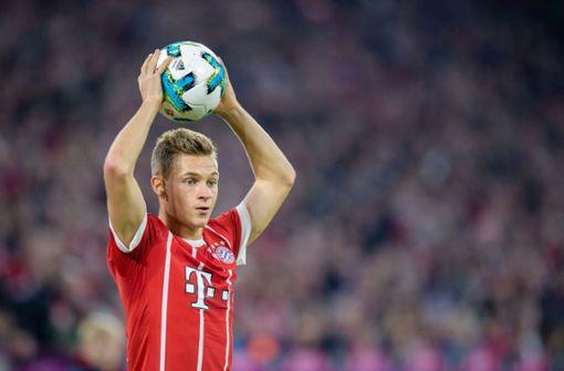 Joshua Kimmich bleibt dem FC Bayern München langfristig erhalten. Foto: dpa