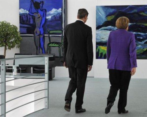 Merkel hat die Hosen an