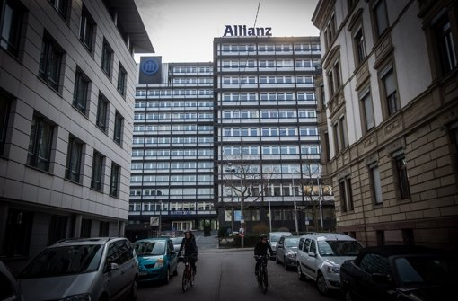 Der Allianz-Standort im Stuttgarter Westen: Auch er kommt als Platz zum Wohnen ins Visier der Kommunalpolitiker. Foto: Lichtgut/Achim Zweygarth