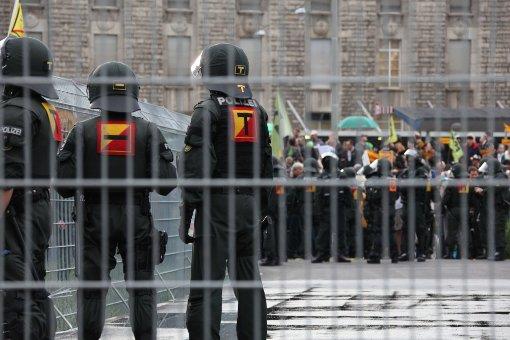 Der Polizeieinsatz vom 20. Juni. Ein S21-Gegner wurde nun festgenommen. Foto: Beytekin