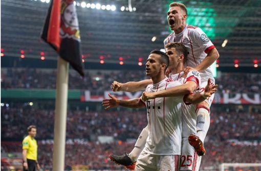 FC Bayern schießt Bayer Leverkusen aus dem Wettbewerb