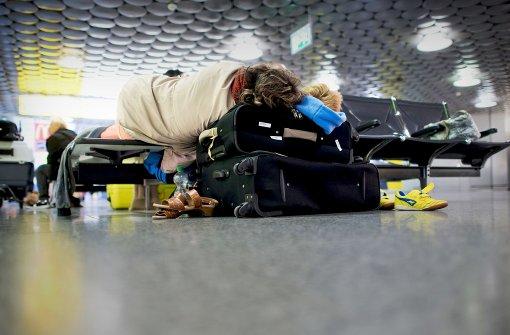 Krankmeldungswelle blockiert Ferienflieger