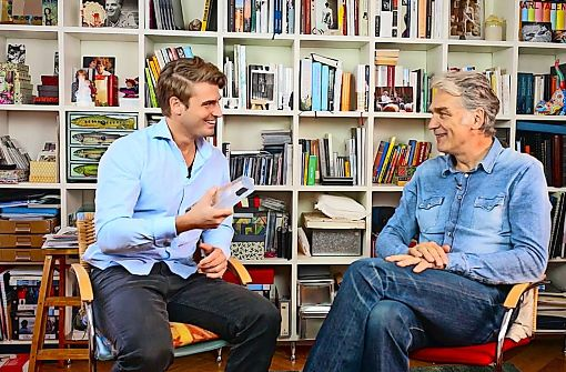 Stuttgarter TV-Star   Sittler gibt  dem Nachwuchs Tipps