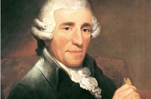 Joseph Haydn (1732-1809) in einem Porträt von Thomas Hardy aus dem Jahr 1791 Foto: Eisenhüttenstadt