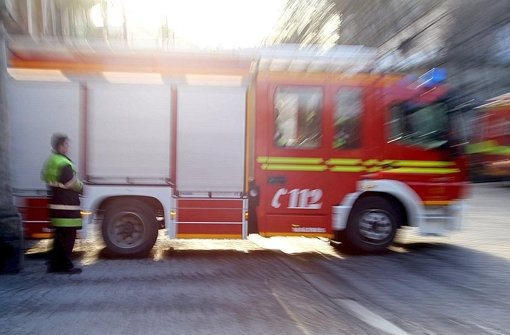 Zwei Menschen bei Hausbrand verletzt