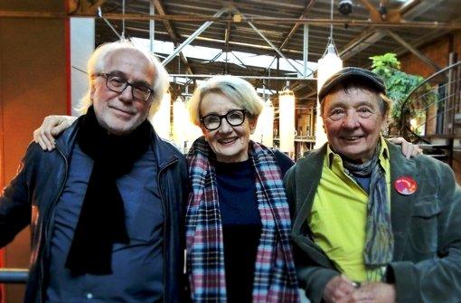 Werner und Gudrun Schretzmeier, Peter Grohmann. Foto: Theaterhaus