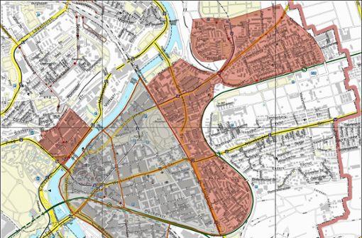 Stadt erhebt Zahlen in den Nachbargebieten
